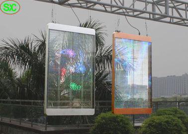 Przejrzysty ekran LED