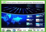 Advertising outdoor Curtain LED Display p2.5 , Curved LED Board with Nova system
