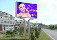 Big P16 SMD 3535 Video Wall Advertising LED Screens More Than 5000cd/㎡