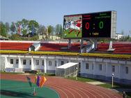 dobra jakość RGB LED Display & Tablica reklam reklamowych w stadionie sportowym P4.81 Wynajem ścian LED wideo 1R1G1B na wyprzedaży