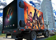Advertising Vehicle Mounted Outdoor Full Color Led Screen Display Rgb high resolution