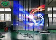 Indoor Full Color High Brightness Transparent Led Screen Rental G3.91 - G7.8125
