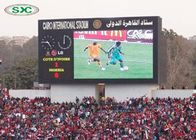 P3.91 Iron Cabinet Stadium LED Screens , LED Perimeter Boards 1/8 Scan Mode