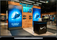 Waterproof IP34 Curtain LED Display 5MM Pixel Pitch Full Color Energy Conservation