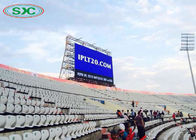 Outdoor Large Stadium LED Display Screen Live Broadcast Match P6 500cd/m2 Brightness