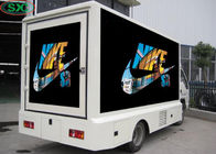 P6/P8/P10 Car Led Message Display Advertising Truck Screen Moving Outdoor 1R1G1B