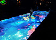 P6.25 portable led video dance floor Outdoor waterproof for Party
