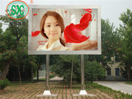 HD Outdoor P5 Advertising LED Screensstreet Pole Screen High Resolution WIFI Control
