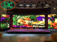 Super Slim Rental Stage Led Screens 64*64 Dots P3.91 Indoor Wide View Angle
