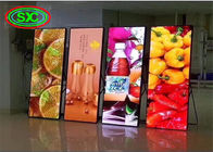 4G TB box control P3 Poster LED Display Panel Portable Board Screen Digital Signage