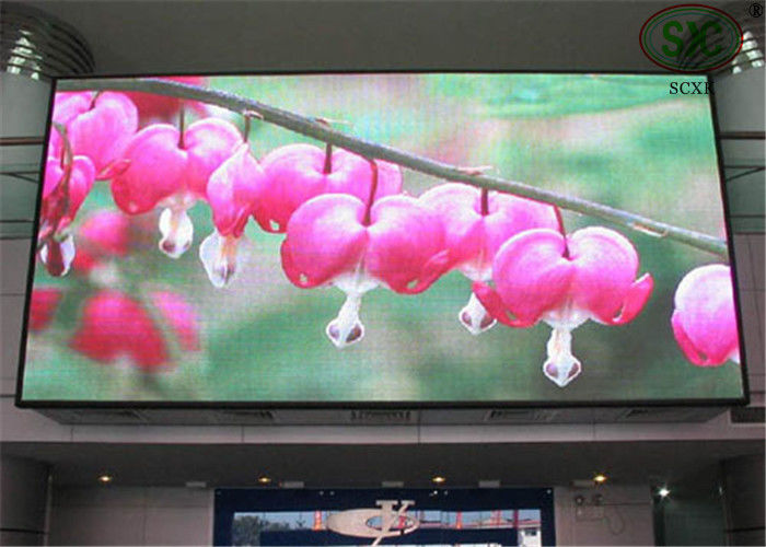 High Density Indoor Full Color LED Display Video Controller Working