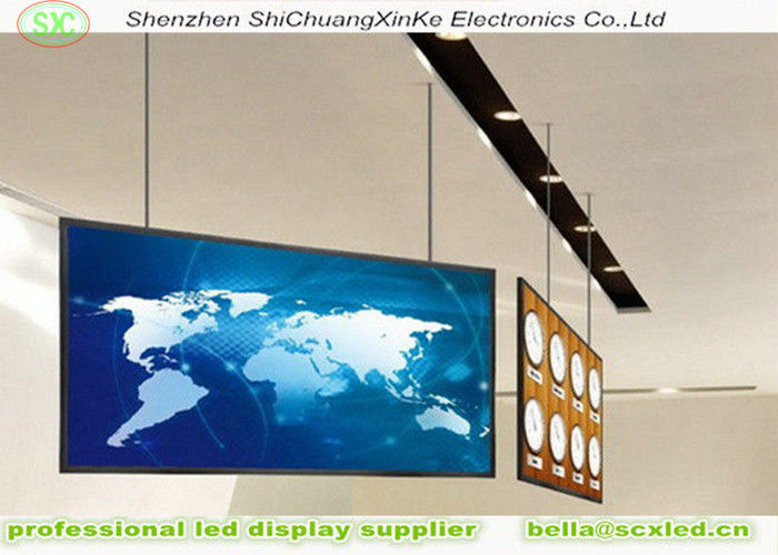 p10 outdoor advertising led display screen Energy Saving Digital Hanging LED Display Boards , Video LED screen