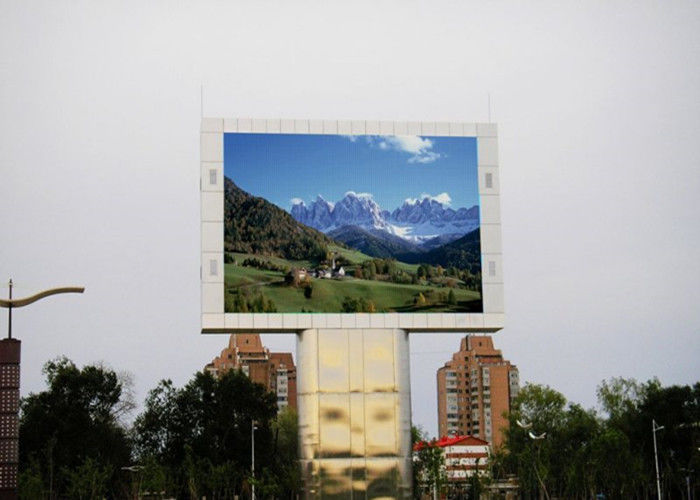 SMD P5 P6 P8 P9 Outdoor LED Advertising Display Screens Waterproof High Resolution
