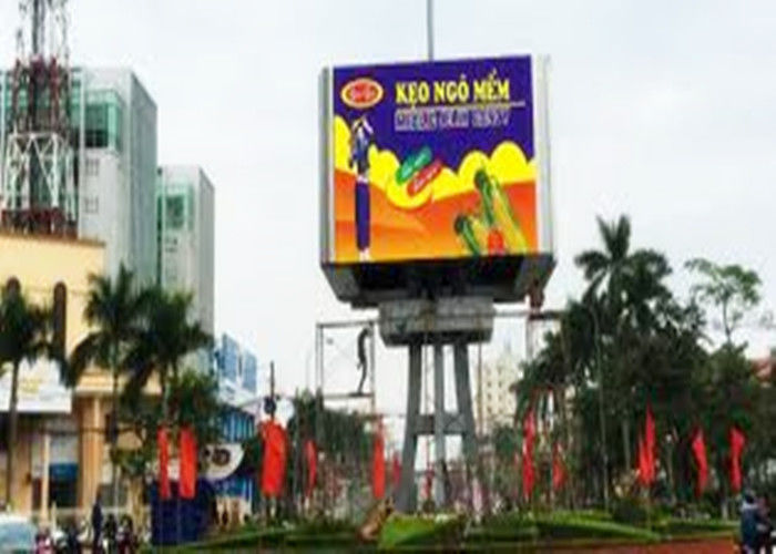 Rgb Noiseless Ultra Thin High Brightness Led Billboards Environment Friendly