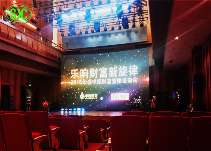 Stage Hanging P3.91 LED High Resolution Video Display With Good View Effect