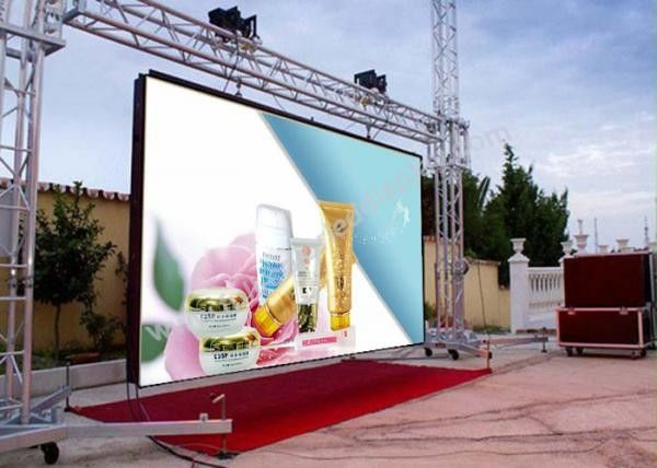 DIP346 Commercial advertising P20 Large LED Display Screen, RGB LED Billboards
