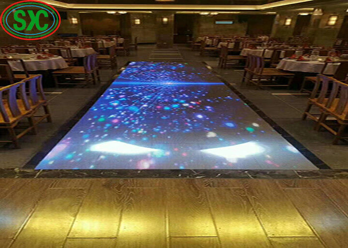 IP65 P6 LED DJ Stage Dance Floor Waterproof Strong Power Supply Cabinet LSN System