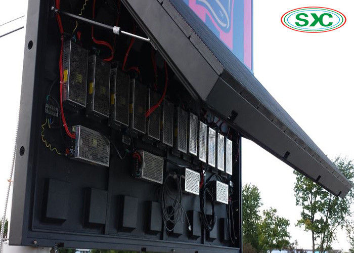 P6 LED Screen Outdoor Full Color LED Display Front Maintenance Cabinet