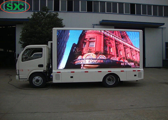 Truck Advertising Ar LED Sign Display Screen Rgb 3 In1 1/8 Scan Driving Mode