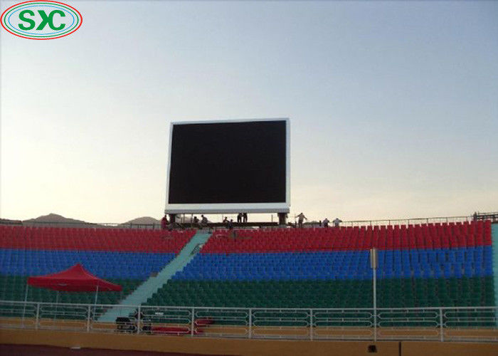 Outdoor Waterproof Stadium Perimeter Led Display P8 Full Color 6000cd Brightness