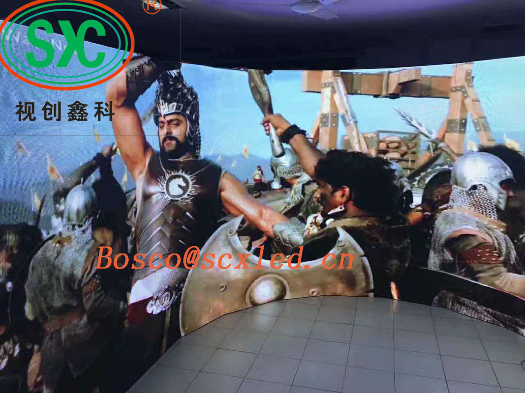 Indoor Stage LED Screens HD Advertising P3.91/P4.81 Mall Full Color Display