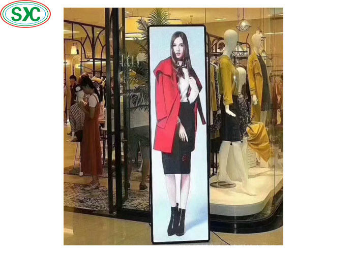 3mm Pitch LED Poster Display Advertising Screen 640*192 Dots Pixel 3 Years Warranty