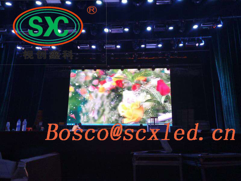 SMD Ultra Thin P3 Indoor Screen Video Wal Full Color Die Cast Aluminum Cabinet