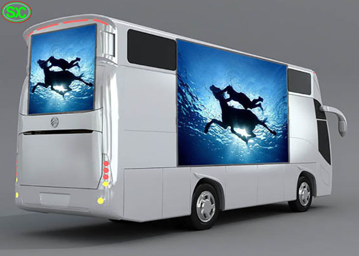High Definition P6 Mobile Truck LED Display , advertising outdoor mobile led screen