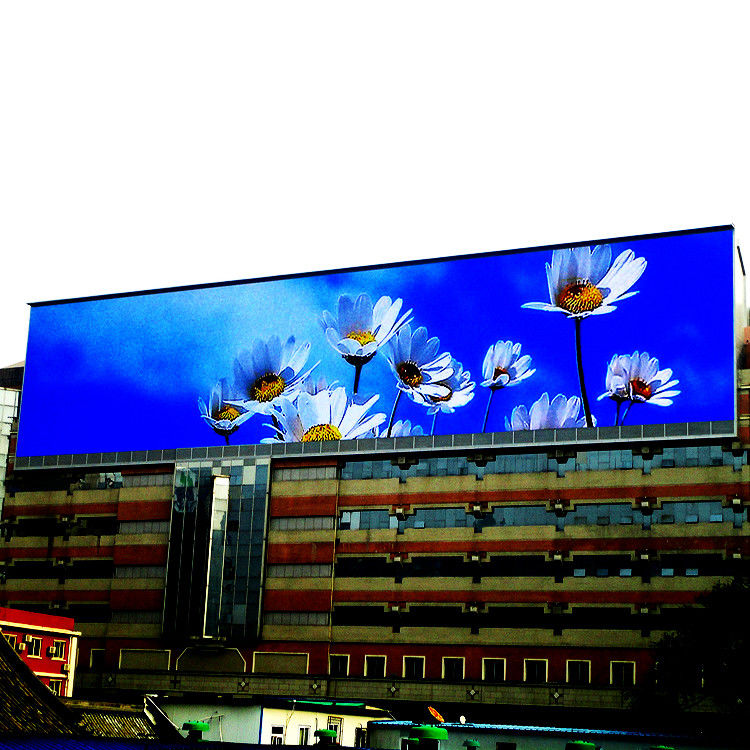 Flexible SMD LED Screen , P10 Outdoor Billboard Full Color LED Display Waterproof IP65