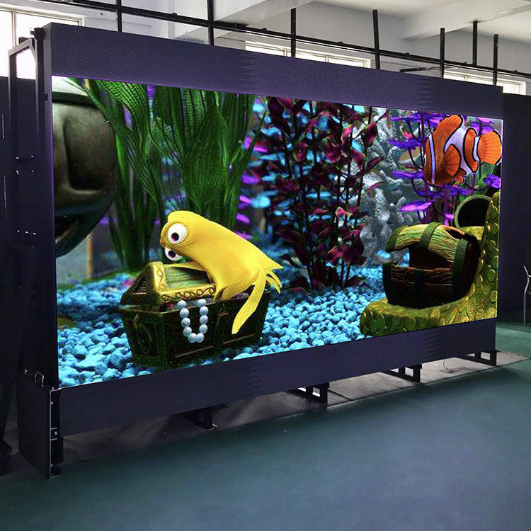 P2.5mm Indoor Rental 3D Stage LED Screens 1/32 Scanning Mode CE Approved
