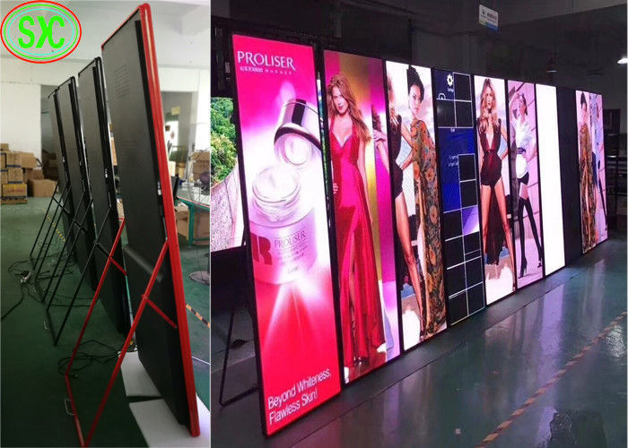 High Definition LED Illuminated Poster Displays P3 Full Color Kinglight LED Lamp