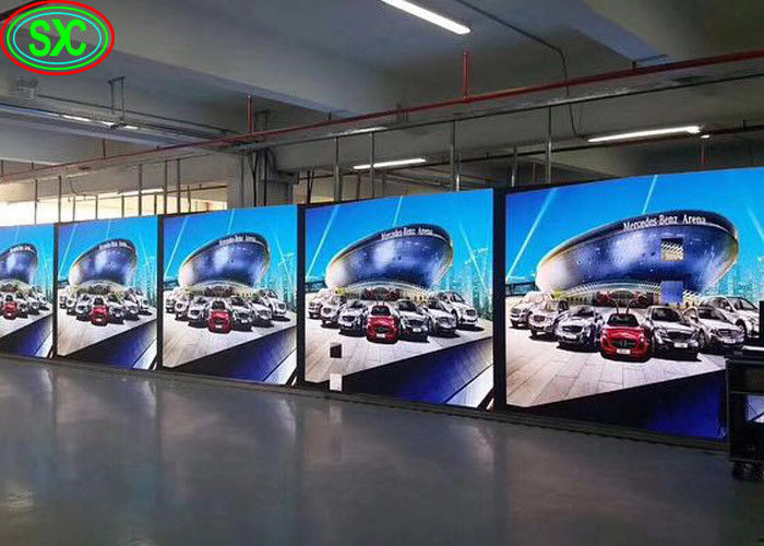 1500cd Brightness LED Stage Screen Rental P3.91 / P4.81 1R1G1B Encapsulation Type