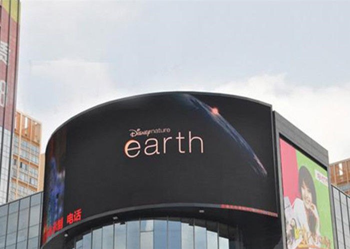 High Resolution Led Outdoor Advertising Screens , Led Sign Board P8 320*160mm Module