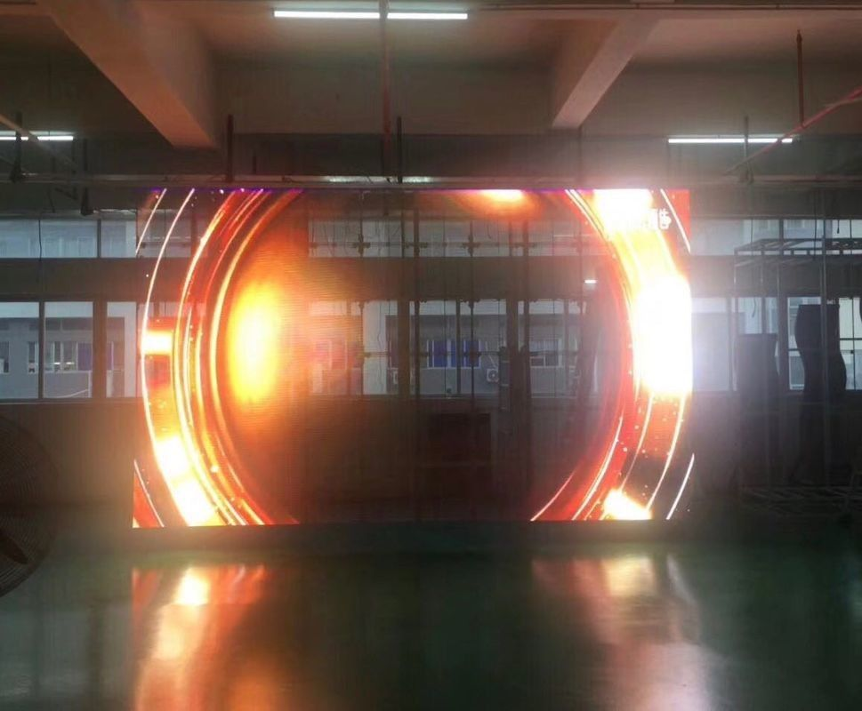 High Brightness Transparent Led Display P10.42 Outdoor Advertising Led Screen P10mm Lightweight Glass Mesh Video Wall