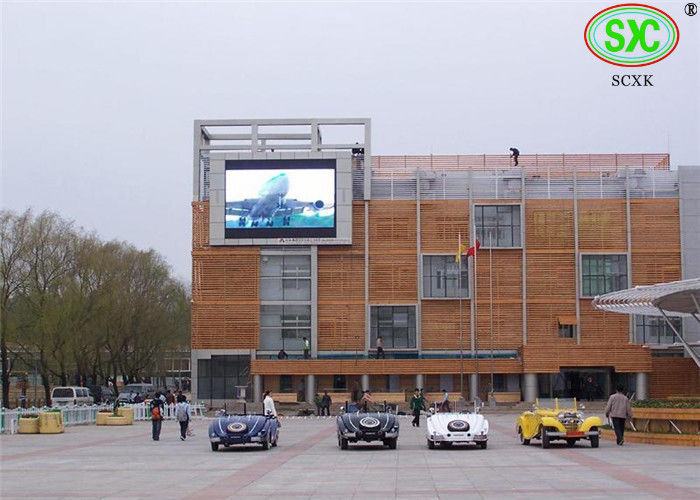 Energy Saving Full Color Outdoor LED Billboard Display For Advertisment P16
