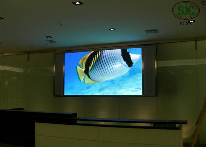 IP30 thinner LED TV display panels / p5 indoor led display With Remote control