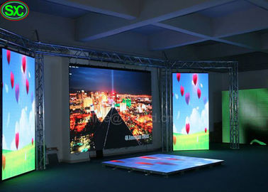 SMD 2121 LED HD Video Wall Kurtyna Z MEANWELL Novastar System, 1000x1000 Gabinet Rozmiar